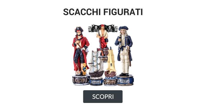 Scacchi figurati tematici italfama pirati dei caraibi