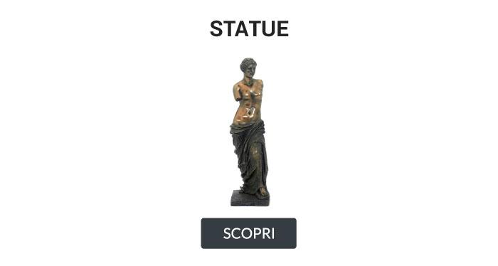 Statue italfama venere di milo