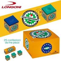 Longoni Nir Super Professional gesso stecca verde 25 confezioni da 3 gessi.
