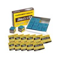 Pioneer gesso per stecca biliardo 12 scatole da 12 pezzi.