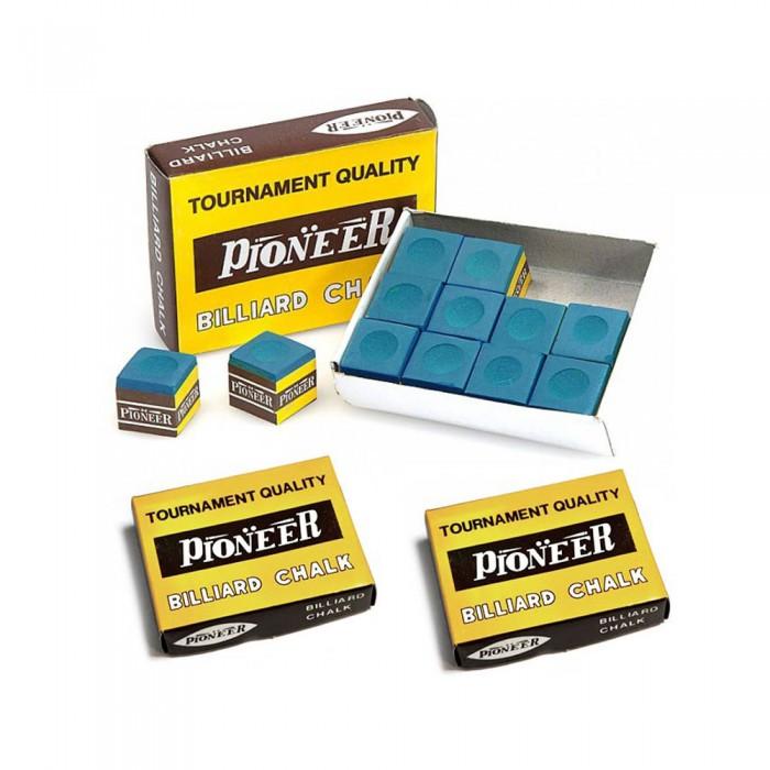 Gesso biliardo Pioneer per stecca 3 scatole da 12 pezzi.
