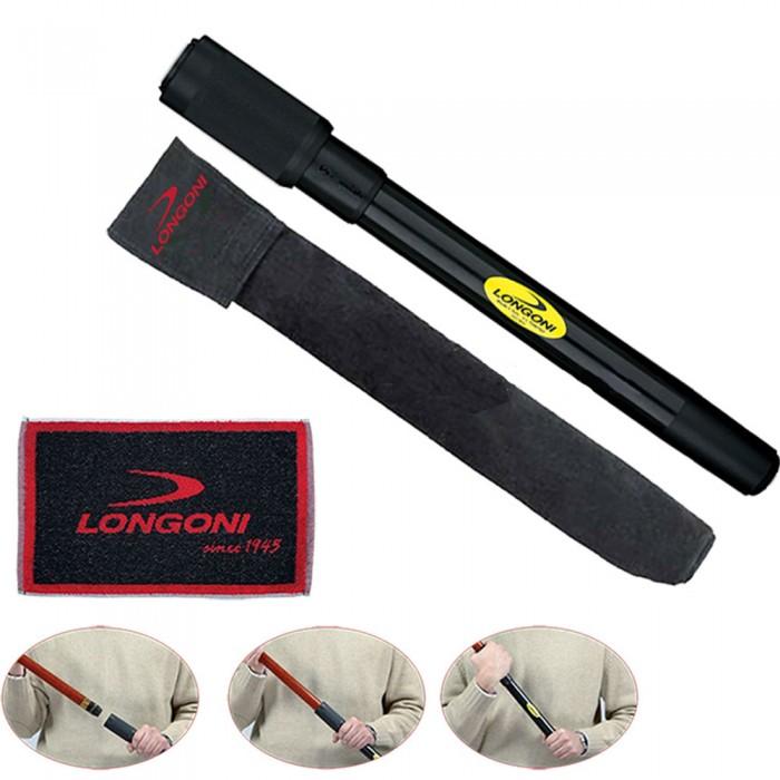 Stecca biliardo prolunga universale Longoni per stecche con calci da diametro mm.30 a mm.32, lunghezza cm.40, con salvietta Longoni in omaggio.