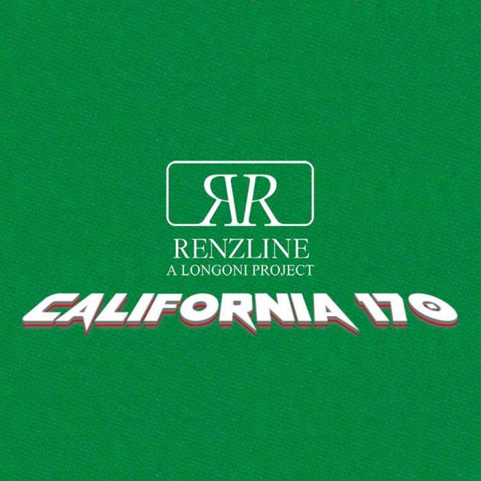 Panno biliardo pool Renzi Line by Longoni California cm.280x170, verde. Copertura piano e sponde biliardo pool 8 piedi, con buche, misure campo da gioco cm.224x112, ardesia cm.241x130.