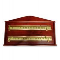 Biliardo Classic segnapunti a parete in legno cm.66x40 due o quattro giocatori.