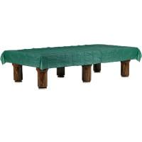 Biliardo coperta impermeabile in plastica per tavolo biliardo, colore verde, misure cm.380x240.