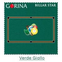 Gorina Billar Star panno per biliardo Pool  7,5 piedi, taglio panno cm. 295x150
