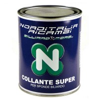 Biliardo Norditalia Ricambi  Collante super gr.750 per sponde biliardo.