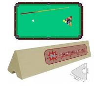 Sponde  B/G Super Pro set di 6 liste cm.109 di gomma per sponde biliardo pool  8 piedi campo da gioco cm.224x112.