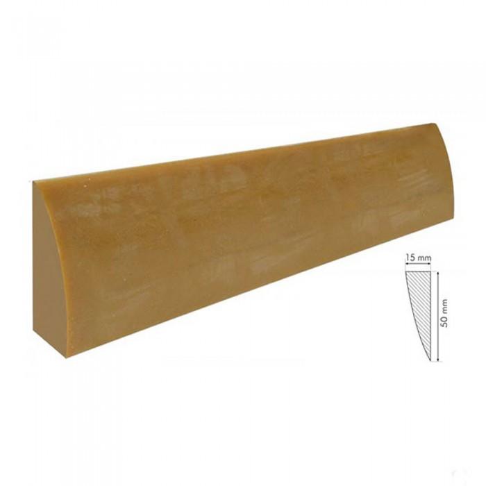 Biliardo Italiana con buche ricambio Gomma Para Bionda. Una lista per sponde lunghezza cm.140, altezza mm.50, spessore mm.15.