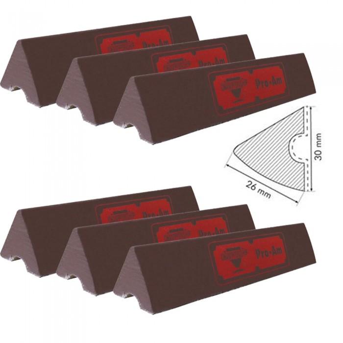 Biliardo Pro-AM Gomma per sponde biliardo pool 8 piedi campo da gioco cm.254x127, sei liste cm.120
