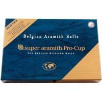 Set di palle da biliardo Aramith 57,2 mm Value pack
