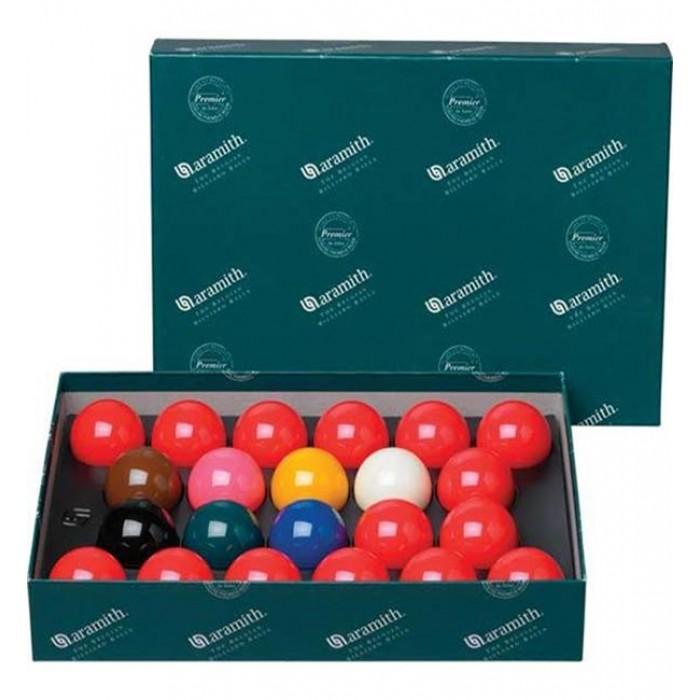 bilie-biglie-palle snooker, Aramith biliardo con buche, specialità snooker inglese, 22 bilie diametro m. 52,4