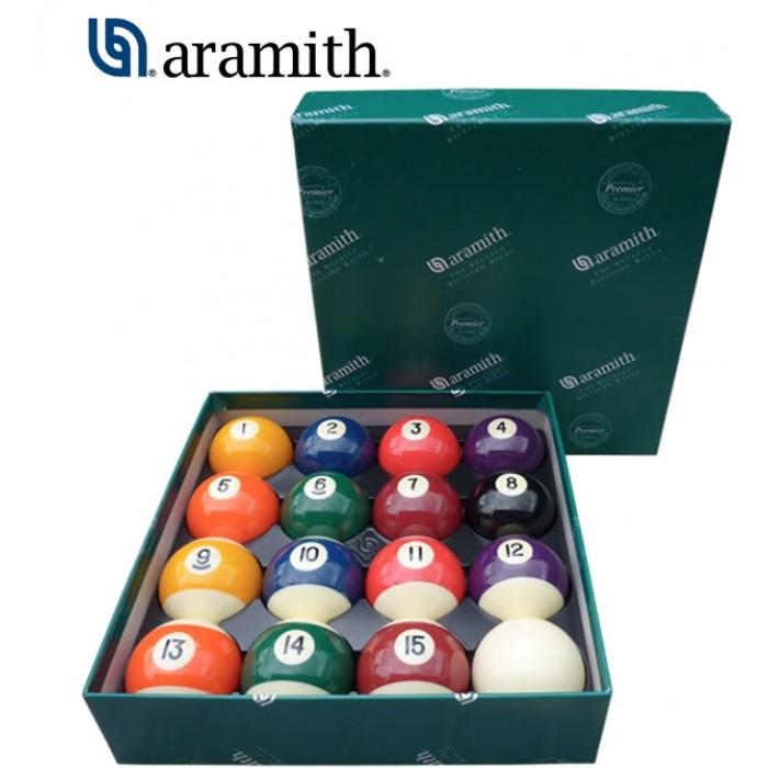 Aramith The Belgian Billiard Balls Continental bilie biliardo diametro mm.38, in resina fenolica, disciplina pool 15 biglie numerate e una bianca battente .