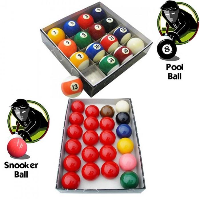 Offertissima ! OAH biglie kit con un set di biglie OAH Pool  mm.57,2 e un set di biglie OAH Snooker  mm.57,2.