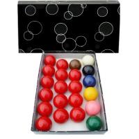 OAH Economic Snooker set biglie per Snooker  Ø mm.57,2. 15 biglie rosse, 6 colorate e una bianca battente.