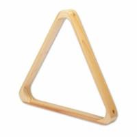 Biliardo Pool Triangolo De Lux in legno chiaro per bilie diametro 57,2