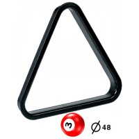 Triangolo in pvc per spacco gioco pool bilie  mm.48.