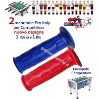 Calcio balilla Roberto Sport Competition, omologato FICB, coppia manopole Pro Italy professionali colori Rosso, Blu.