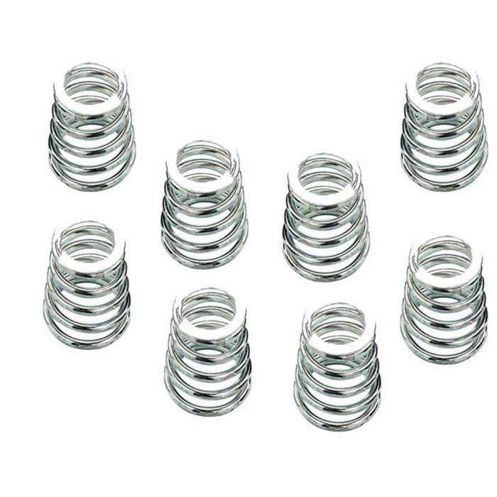 Calcio Balilla serie 8 molle coniche per aste rientranti Garlando, a passo corto in acciaio zincato diametro mm.10 lunghezza m.30