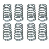 Calcio Balilla serie 8 molle coniche per aste rientranti Garlando, a passo corto in acciaio zincato diametro mm.16x30