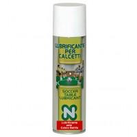 Calcio Balilla Renzi Line Lubrificante per aste calcetto in flacone spray 250ml, eccellente sia per calcetti per esterno che per interno.