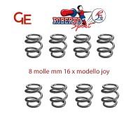 Roberto Sport 8 molle biconiche diametro mm 16 per calcio balilla modello Joy