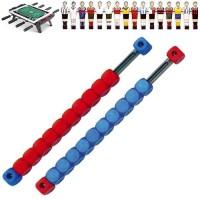 Calcio Balilla Coppia di segnapunti a dieci (10) cubetti colori rosso e blu, da installare sugli opposti lati corti del campo (lato portiere)