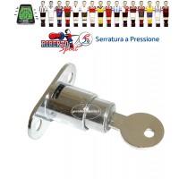 Calcio Balilla Roberto Sport Serratura a pressione. utilizzabile sia a destra che a sinistra.