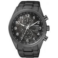 Citizen H800 Leonardo AT8018-56E. Cronografo 1/5 di sec con mvt. al quarzo Eco-Drive riserva di carica di 10 mesi