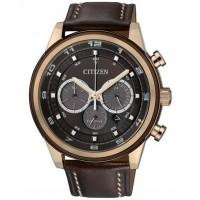 Citizen Metropolitan Crono CA4037-01W. Cronografo, 60 minuti 1/5 di sec. mvt. Eco Drive, riserva di carica 270 giorni.