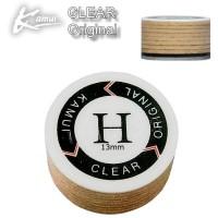 Kamui Clear Original cuoio laminato 10 strati 100% pelle suina, prodotto in Giappone, durezza Hard diametro mm.13.