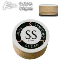 Kamui Clear Original cuoio laminato 10 strati 100% pelle suina, prodotto in Giappone, durezza Super Soft diametro mm.13.