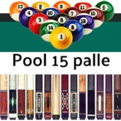 Pool carambola 15 palle