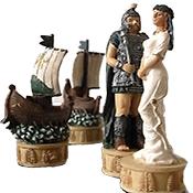 Guerra di Troia Re cm.4,3