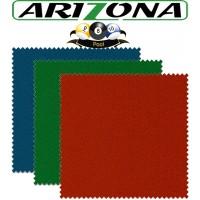 Panno biliardo pool Renzi Line Arizona. Taglio mt. 2,0x1,6 copertura piano e sponde Pool 6 piedi, campo da gioco cm.180x90, ardesia cm.191x99. Disponibile in tre colorazioni.