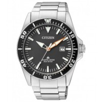 Citizen Marine Diver 200 MT Eco Drive BN0100-51E. Eco Drive, riserva di carica 180 giorni, orologio solo tempo.