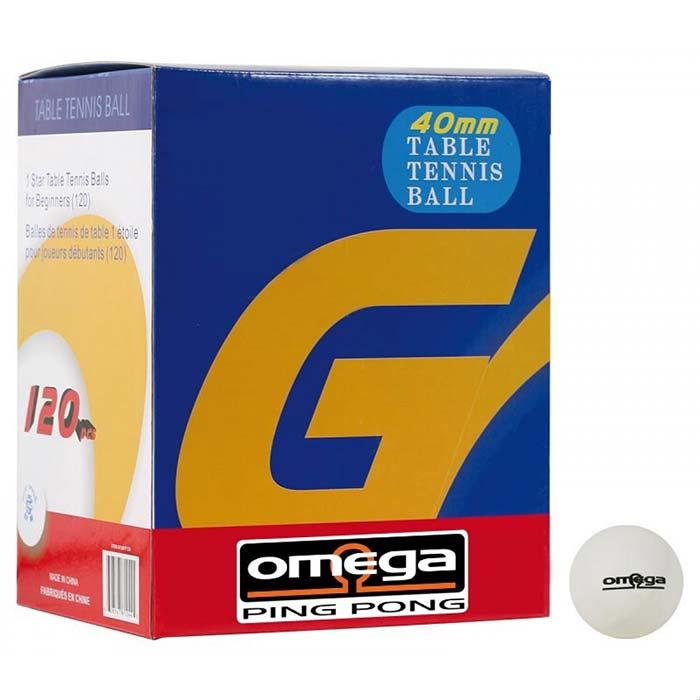 Palline ping pong Omega Star 1 confezione 120 pezzi