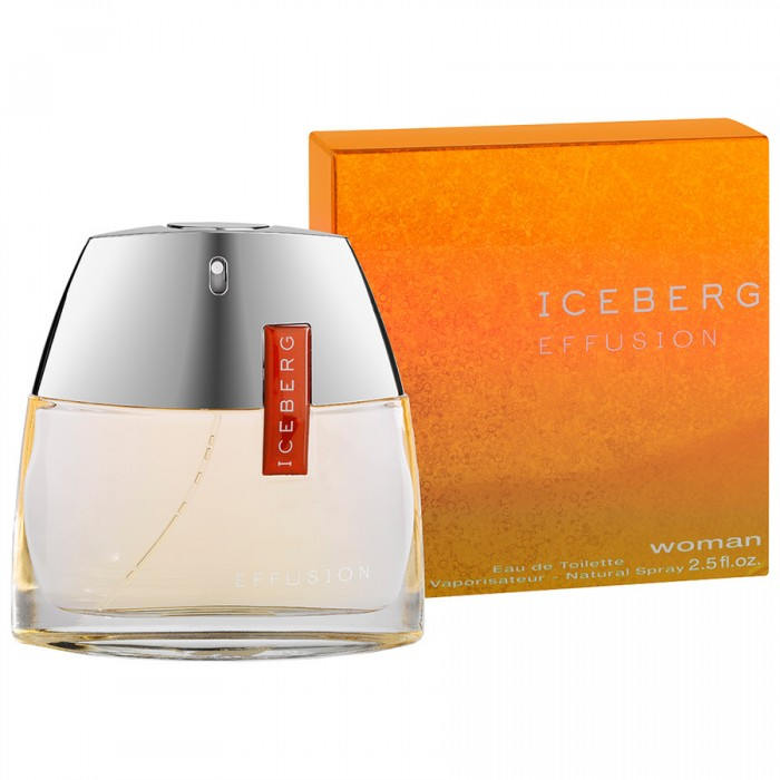 Iceberg Effusion woman eau de toilette 75 ml 2.5 FL.OZ. Natural spray vaporisateur