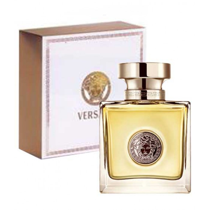 Versace Eau de Parfum natural spray 50ml. Profumo autentico ed originale.