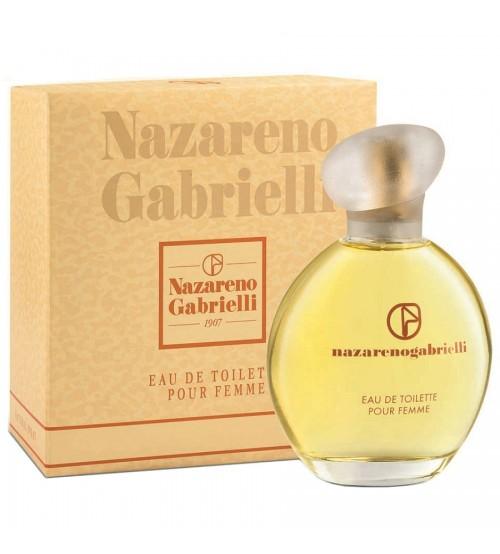 Nazareno Gabrielli pour femme eau de toilette 100 ml 3.4 FL.OZ.  natural spray vaporisateur. Profumo autentico ed originale, non è un tester !