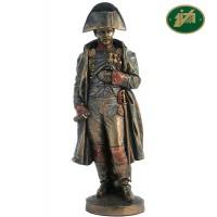 Statua Napoleone Bonaparte riproduzione in resina bronzata altezza cm.28. Elegante prodotto firmato. Italfama Firenze.