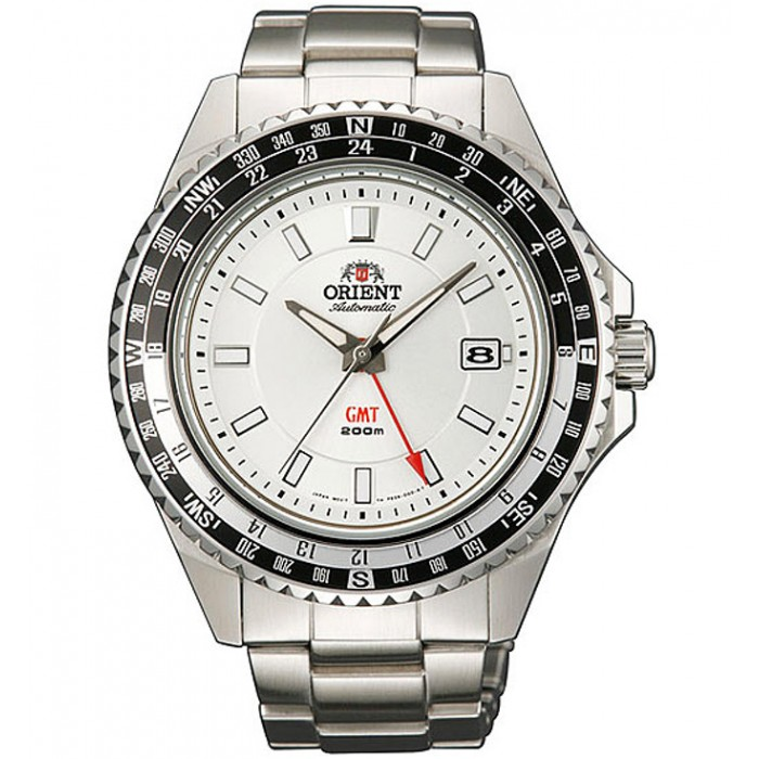 Orient Excursionist orologio automatico, GMT, datario, sub mt. 200.