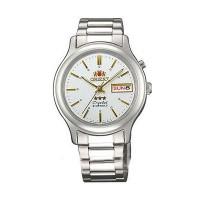 Orient FEM02021W9 orologio mvt. meccanico a carica automatica Day Date.