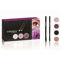 Bellapierre make-up Get the look kits Purple Storm ombretto.