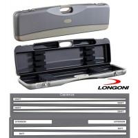Longoni Esclusive Line valigetta Londra .Valigetta in abs con eleganti inserti in pelle logata Longoni.