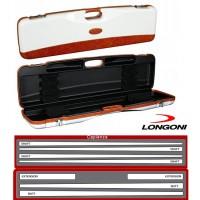 Longoni Esclusive Line valigetta Montecarlo .Valigetta in abs con eleganti inserti in pelle logata Longoni.