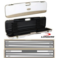 Longoni Esclusive Line valigetta Ontario .Valigetta in abs con eleganti inserti in pelle logata Longoni.