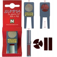 Summa  Shaping Tool per punte da mm.11,6 a mm.13,5. Multifunzione manutenzione cuoi, made in Italy.