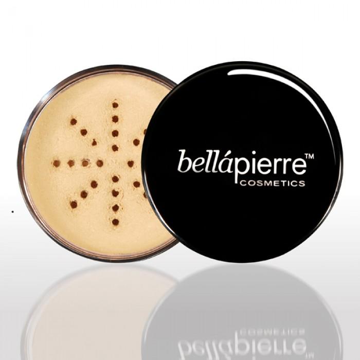 Bellapierre fondotinta minerale colore cinnamon, confezione 9gr.