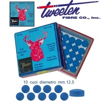 Tweeten Elk Master 10 cuoi per stecca biliardo diametro mm.12,5